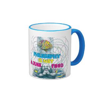 Philosophy is not a junk food mug