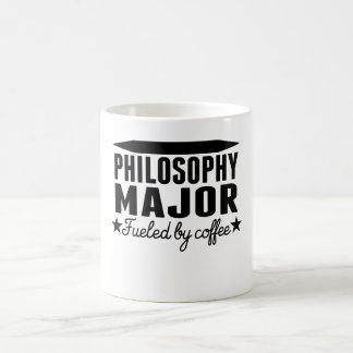 Philosophy Major Fueled By Coffee Classic White Coffee Mug