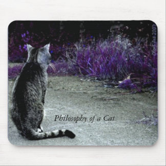 Philosophy of a Cat Mouse Pad
