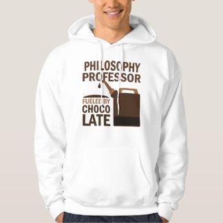 Philosophy Professor (Funny) Chocolate Hoodie