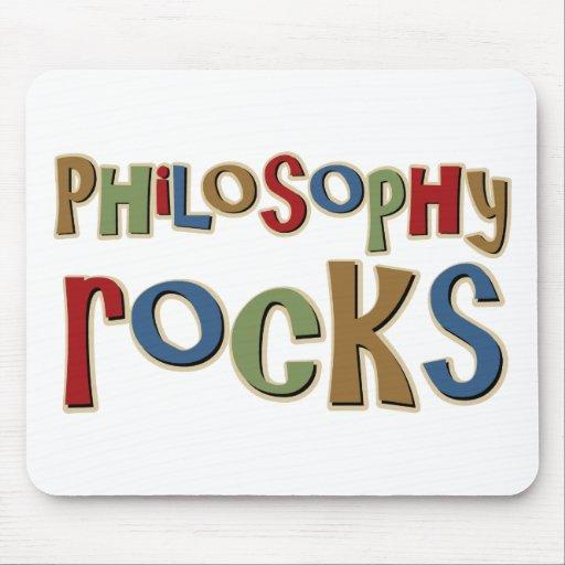 Philosophy Rocks Mouse Pads