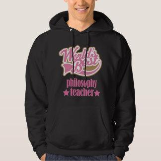 Philosophy Teacher Gift (Worlds Best) Hoodie