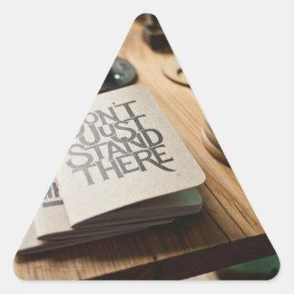 philosophy triangle sticker