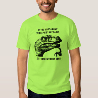 Philosoraptor ADHD Tee Shirt
