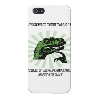Philosoraptor Booty Calls iPhone SE/5/5s Cover