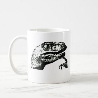 ¿Philosoraptor - buena mañana? Taza De Café