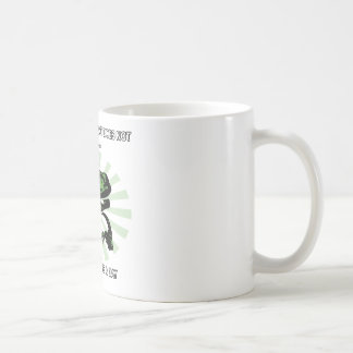 Philosoraptor Clocks Coffee Mug