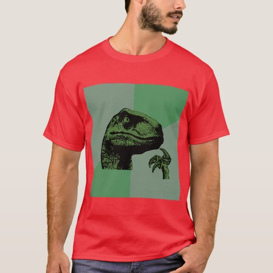 Philosoraptor Dinosaur Advice Animal Meme T-Shirt