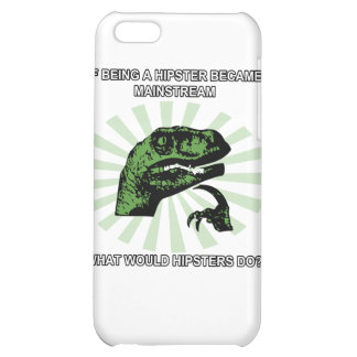 Philosoraptor Hipsters iPhone 5C Cover