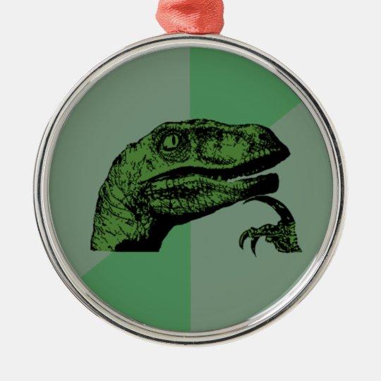 Philosoraptor Holiday Ornament