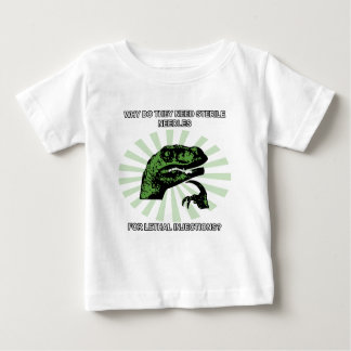 Philosoraptor Lethal Injections Baby T-Shirt