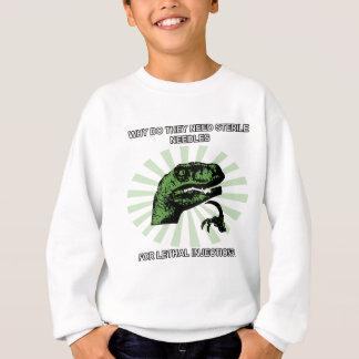 Philosoraptor Lethal Injections Sweatshirt