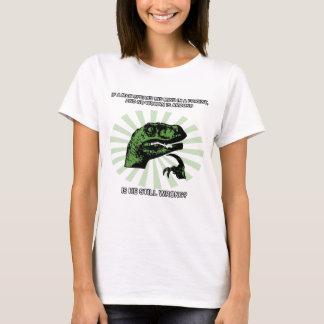Philosoraptor Men and Women T-Shirt