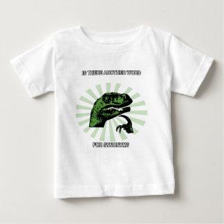 Philosoraptor Menopause Baby T-Shirt