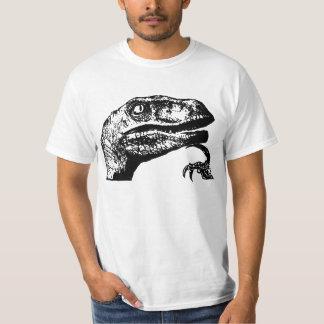 Philosoraptor no text t-shirts