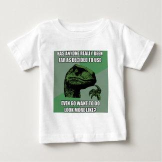 Philosoraptor Nonsense Baby T-Shirt