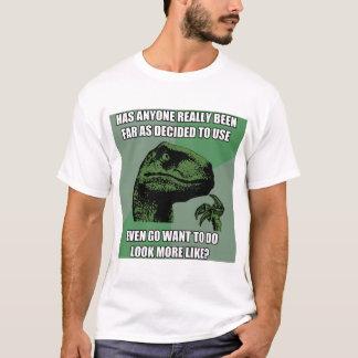 Philosoraptor Nonsense T-Shirt
