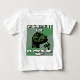 Philosoraptor Progress Vs Congress Baby T-Shirt
