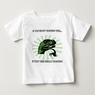 Philosoraptor que pierde tiempo t shirts
