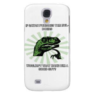 Philosoraptor Satan Samsung Galaxy S4 Case