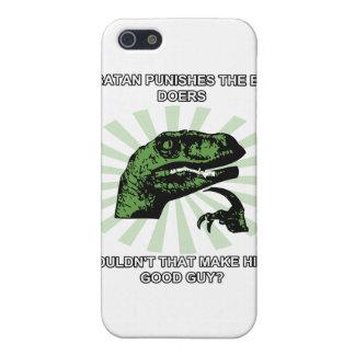 Philosoraptor Satan Case For iPhone SE/5/5s