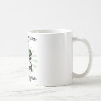 Philosoraptor Satan Coffee Mug