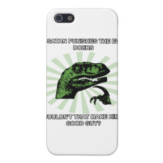 Philosoraptor Satan iPhone 5 Case