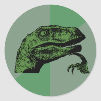 Philosoraptor Stickers