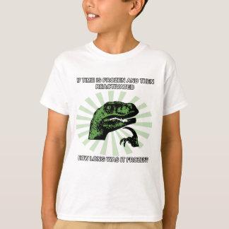 Philosoraptor Time T-Shirt