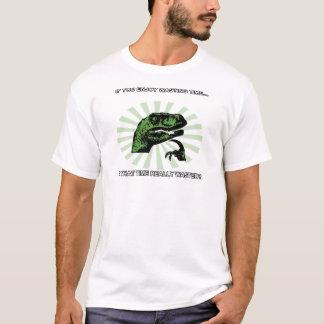 Philosoraptor Wasting Time T-Shirt