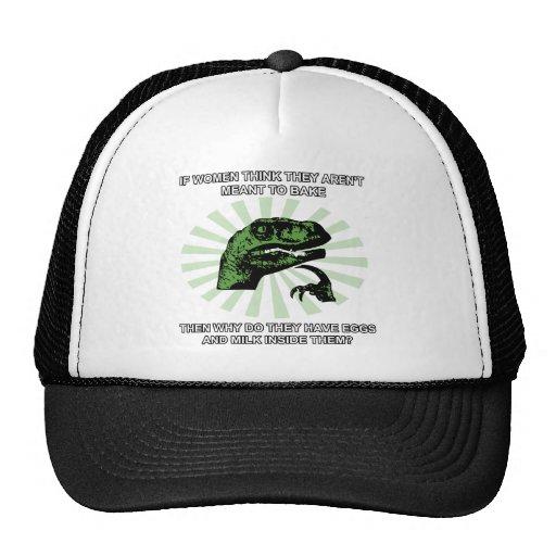 Philosoraptor Women Baking Trucker Hat
