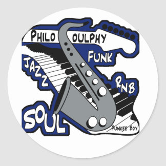 PhiloSOULphy product line Round Sticker