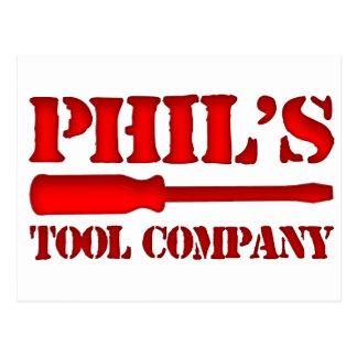 Phil's Tool Company Postcard