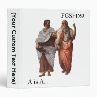 Philsophical Division- A is A vs FGSFDS 3 Ring Binder