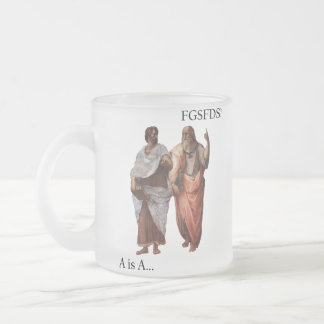 Philsophical Division- A is A vs FGSFDS Coffee Mugs