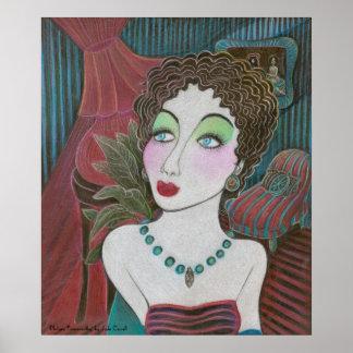 'Philyra Farnsworthy' poster Bronze UV
