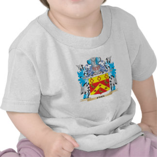 Phin Coat of Arms - Family Crest Tee Shirt