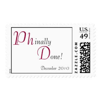 Phinally Done! Custom Stamp