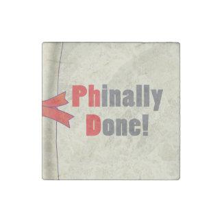 Phinally hecho imán de piedra