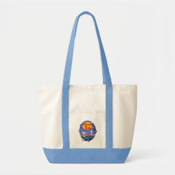 Impulse Tote Bag with Phineas and Ferb Playing Music design