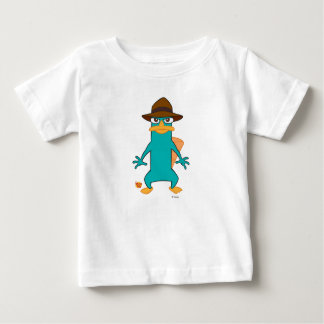 Phineas and Ferb Agent P platypus in hat standing Baby T-Shirt