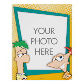 Phineas and Ferb Customizable Print