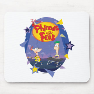 Phineas and Ferb Disney Mouse Pad