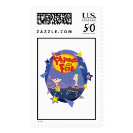 Phineas and Ferb Disney Postage