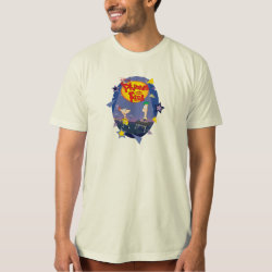 Phineas and Ferb Playing Music Men's American Apparel Organic T-Shirt
