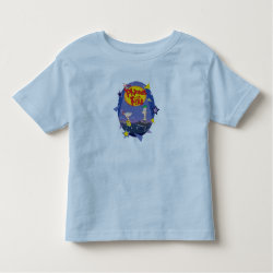 Toddler Fine Jersey T-Shirt with Phineas and Ferb Playing Music design