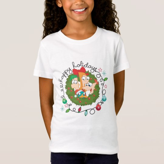 Phineas and Ferb Happy Holidays T-Shirt