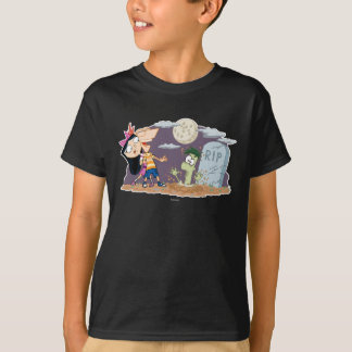 Phineas and Ferb in Graveyard T-Shirt