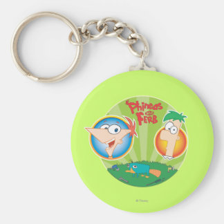 Phineas and Ferb Keychains