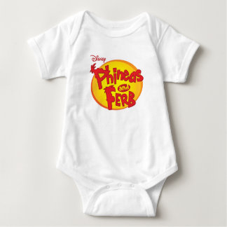 Phineas and Ferb Logo Disney Baby Bodysuit